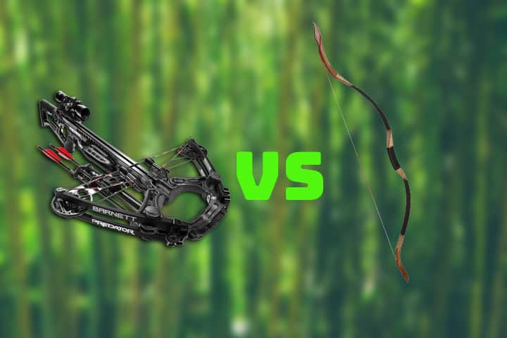 Crossbow vs Longbow